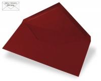 Kuvert DIN lang 220x110mm 90g bordeaux