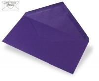 Kuvert DIN lang 220x110mm 90g violett