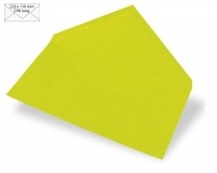 Kuvert DIN lang 220x110mm 90g lindgrün