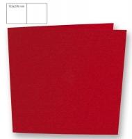 Karte quadratisch 135x270mm 220g kardinalrot (Restbestand)