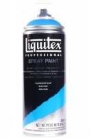 Liquitex Professional Spay Paint fluorescent blue