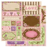 Scrapbooking Papier Smoochable Cut Outs (Restbestand)