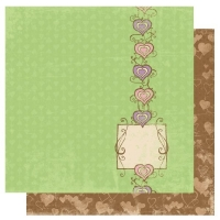 Scrapbooking Papier Smoochable Heart Beat (Restbestand)