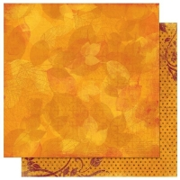 Scrapbooking Papier Forever Fall Impressions (Restbestand)