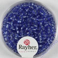 Rocailles 2,6mm ø mit Silbereinzug hellblau