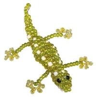 Kids Club 3D Perlentier-Bastelset Gecko Max