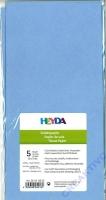 Seidenpapier 50x70 cm hellblau 5 Blatt
