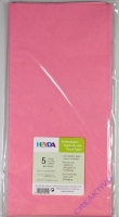 Seidenpapier 50x70 cm rosa 5 Blatt