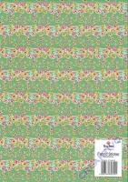Fabric Sticker - Primeln grasgrün (Ausverkauf!!!)