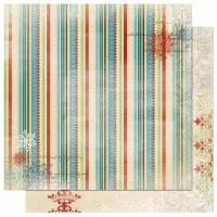 Scrapbooking Papier Blitzen - Stripe