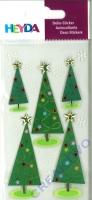 Heyda Sticker Weihnachtsbäume