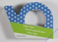 Heyda Deko Tape Kristalle auf blau