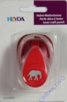 Hebel-Motivstanzer klein Elefant