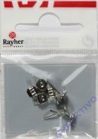 Rayher Ohrstecker 6mm 4 Stück