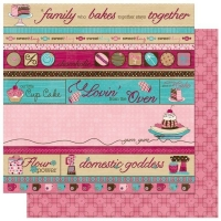 Scrapbooking Papier Sweet Tooth Indulge (Restbestand)
