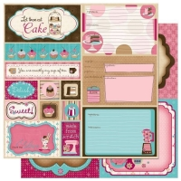 Scrapbooking Papier Sweet Tooth Cut Outs (Restbestand)
