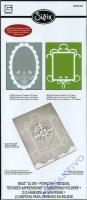Sizzix BIGZ XL Die Ornament-Karte plus 2 Prägeschablonen