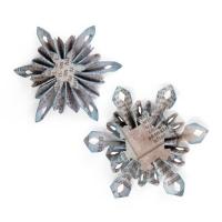 Sizzix Sizzlits Decorative Strip Die - Mini Snowflake Rosettes (2 Sizes)