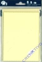Heyda Color Kartenpackung 5 Kartensets mit Büttenrand chamois (Restbestand)