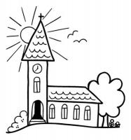 Knorr Stempel Kirche / Sonne