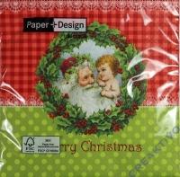 Servietten 33 x 33 cm Merry Christmas