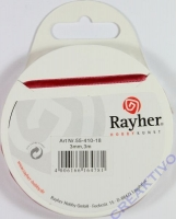 Rayher Samtband 3mm 3m rot (Restbestand)