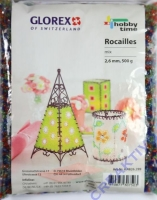 Rocailles mix 2,6mm 500g