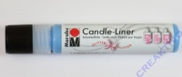 Candle-Liner Kerzenmalfarbe Glitzer-saphir