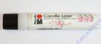 Candle-Liner Kerzenmalfarbe Glitzer-opal