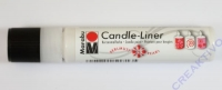 Candle-Liner Kerzenmalfarbe weiß