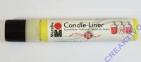 Candle-Liner Kerzenmalfarbe gelb