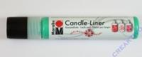 Candle-Liner Kerzenmalfarbe grün