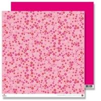 Scrapbooking Papier Pink Miniflowers