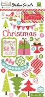 Echo Park Happy Holidays! Mini Theme Sticker (Restbestand)