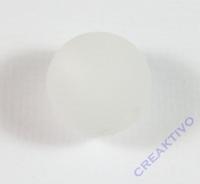 Polarisperle 14mm matt weiß