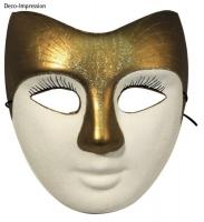 Pappmaske Gesicht 21,5x18 cm