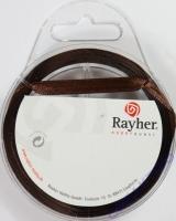 Rayher Satinband 7mm 10m braun