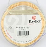 Rayher Satinband 7mm 10m beige