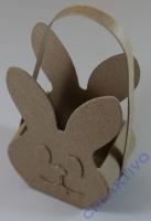 Pappmaché-Tasche Hasenkopf