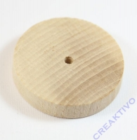 Holzrad 30mm 8mm breit
