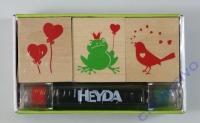 Heyda Stempelset Liebe (Restbestand)