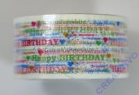 Heyda Pack Tape Happy Birthday