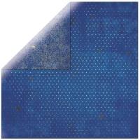 Scrapbooking Papier Bo Bunny Vintage blueberry
