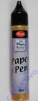 Viva Decor Paper Pen gold (Restbestand)