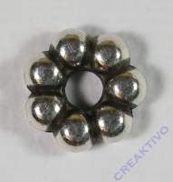 Pracht Zwischenteil Perlenring 9mm (Restbestand)
