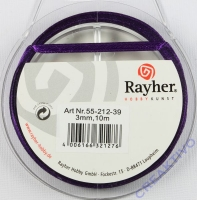 Rayher Satinband 3mm 10m lila
