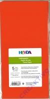 Seidenpapier 50x70 cm orange 5 Blatt