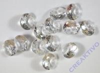 Acryl-Streuteile Diamant 1cm Dose 60g kristall