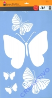 Marabu Schablone 40x60cm Butterfly Family