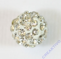 Shamballa Bead 10mm kristall